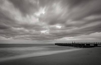 Photograph - Florida Coast Long Exposure by R Scott Duncan