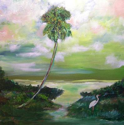 Painting - Florida Coastal Marsh by Patricia Taylor
