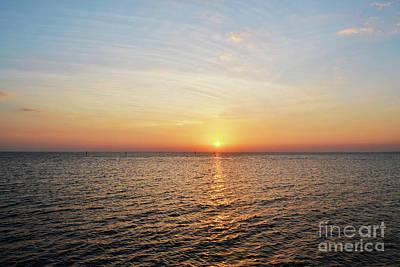 Photograph - Florida Colorful Ocean Landscape by Andrea Hazel Ihlefeld