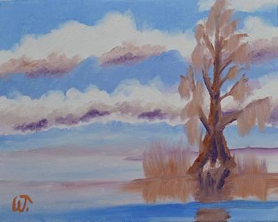 Target Threshold Nature - Florida Cypress by Warren Thompson