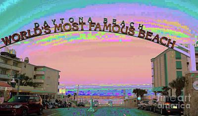 Photograph - Florida Daytona Beach by Corinne Carroll