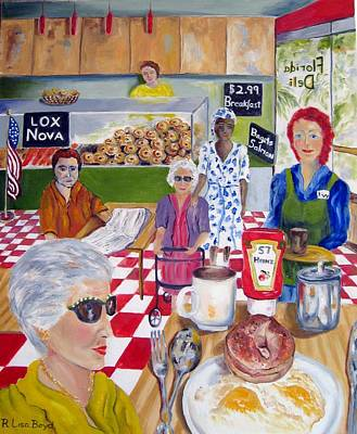 Painting - Florida Deli by Lisa Boyd