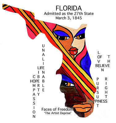 Painting - Florida by Deprise Brescia