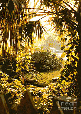 Florida Pond Photograph - Florida Dream by Carol Groenen