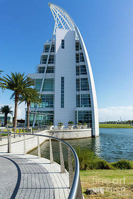 Photograph - Florida Exploration Tower by Jennifer White