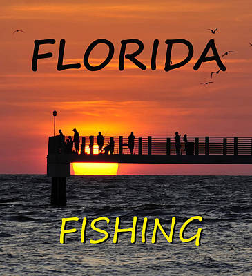 Photograph - Florida Fishing by David Lee Thompson