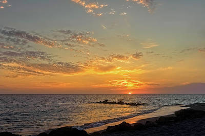 Southwest Florida Sunset Photograph - Florida Gulf Coast Sunset  - Casper937 by Frank J Benz