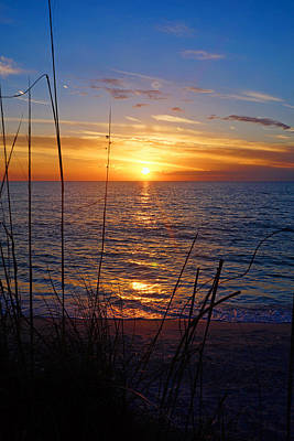 Photograph - Florida Gulf Coast Sunset by Robb Stan