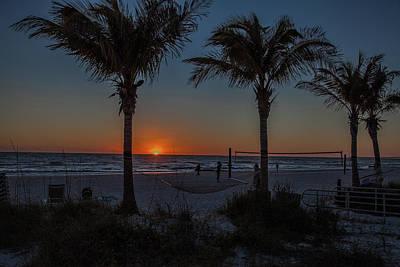 Photograph - Florida Gulf Coast Sunset  by Ronald Lutz