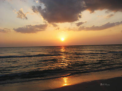 Petersburg Digital Art - Florida Has The Best Sunsets by Bill Cannon