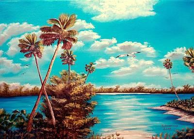 Florida Hideaway Art Print by Riley Geddings