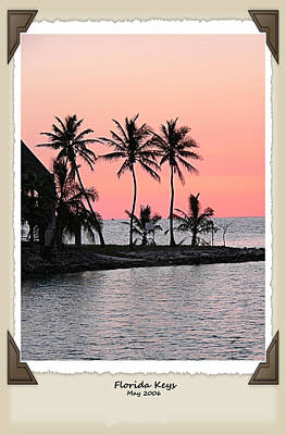 Photograph - Florida Keys 2006 by Kathy K McClellan