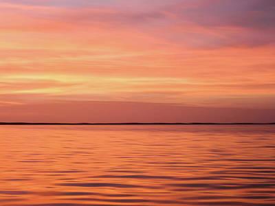 Photograph - Florida Keys Sunset Impressions by Louise Lindsay