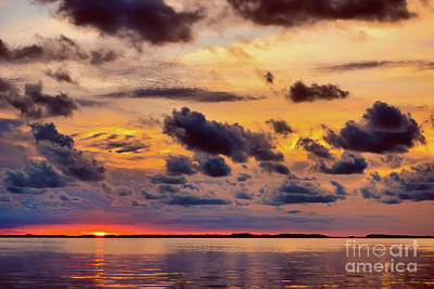 Photograph - Florida Keys Sunset by Olga Hamilton