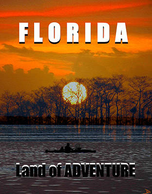 Photograph - Florida Land Of Adventure by David Lee Thompson
