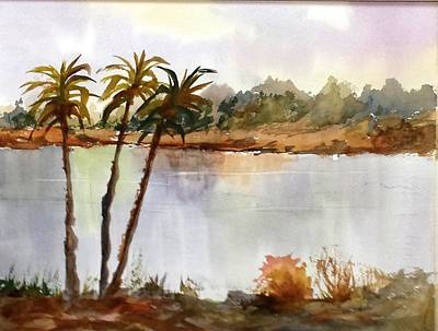 Painting - Florida Landscape by Larry Hamilton