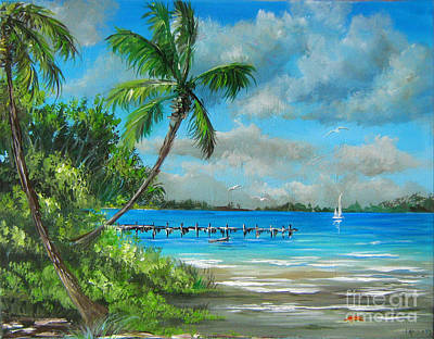 Painting - Florida Landscape by Patrice Torrillo