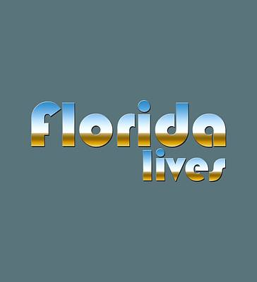 Digital Art - Florida Lives by Bill Owen