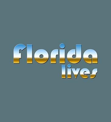 Digital Art - Florida Lives by Bill Owen