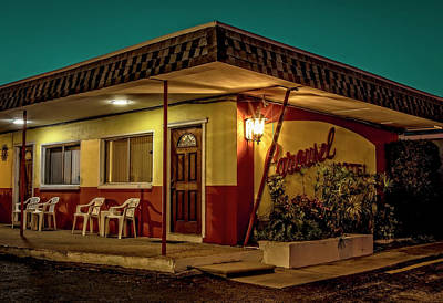 Photograph - Florida Motel by Jerry Golab
