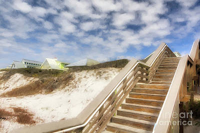 Art Print featuring the photograph Florida Panhandle Sand Dunes by Mel Steinhauer