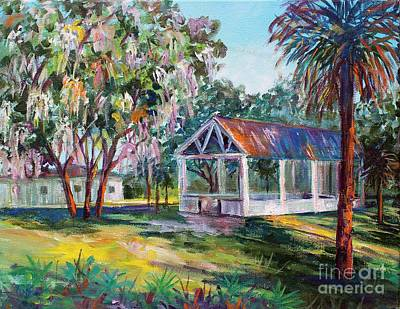 Painting - Florida Picnic by Lou Ann Bagnall