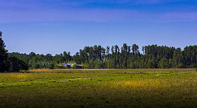 Red Roof Photograph - Florida Ranch by Marvin Spates