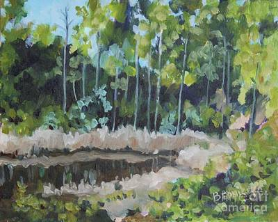 Painting - Florida  Reflections by Jan Bennicoff