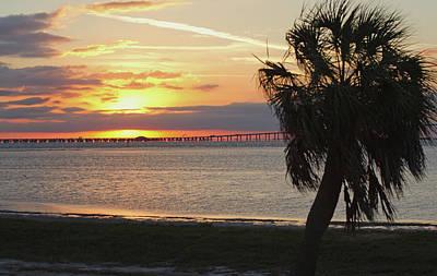 Photograph - Florida Sunrise by Jack Nevitt