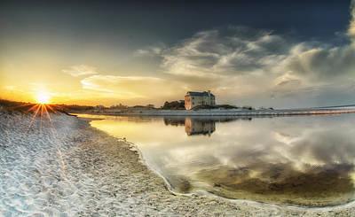 Florida Sunrise - Stillness Art Print by Cathy Neth