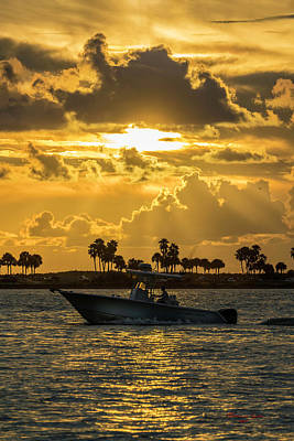 Photograph - Florida Sunset-2 by Marvin Spates