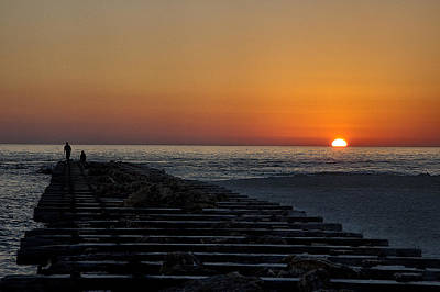 Photograph - Florida Sunset by Dick Pratt