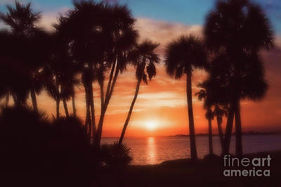 Photograph - Florida- Sunset Memories by Janie Johnson