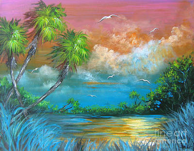 Painting - Florida Sunset by Patrice Torrillo