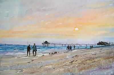 Painting - Florida Sunset by Ryan Radke