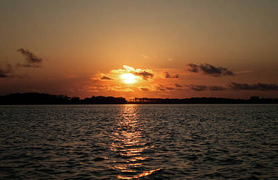 Photograph - Florida Sunset St Andrews Bay by Debra Forand