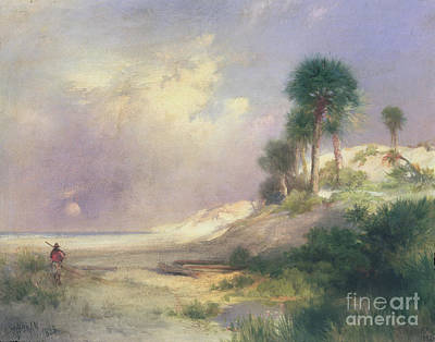 1895 Painting - Florida by Thomas Moran