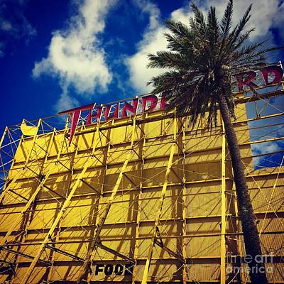 Photograph - Florida Thunderbird Drive In by Suzanne Lorenz