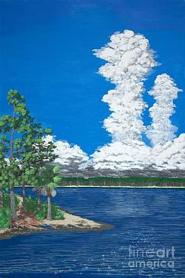 Florida Thunderheads Original by Philip Capps