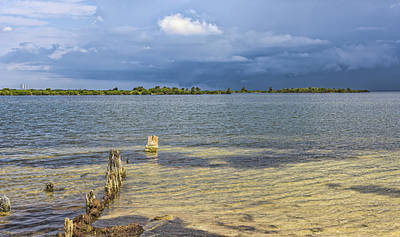 Landscape Photograph - Another Stormy Day by Louise Hill