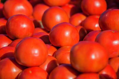 Photograph - Florida Tomatoes by Fran Gallogly