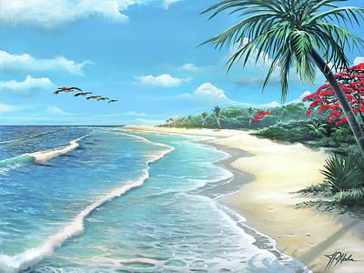 Painting - Florida Treasure by James R Hahn