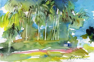 Painting - Florida Trip No.13 by Sumiyo Toribe