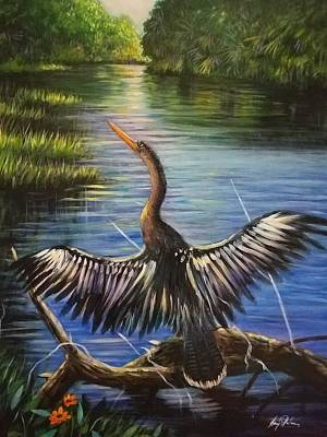 Florida Water Bird  Original by Larry Palmer