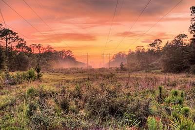 Florida Where The Mundane Becomes Magical Art Print