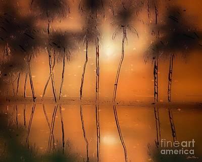 Painting - Floridian Waters by Adam Olsen