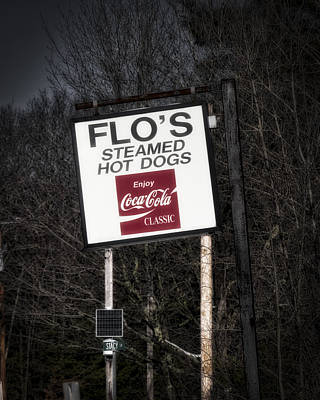 Photograph - Flo's Hot Dogs - Cape Neddick - Maine by Steven Ralser