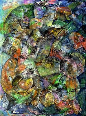 Painting - Flotsam  by Jim Whalen