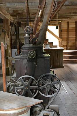 Photograph - Flour Mill At White's Mill - Abingdon Virginia by rd Erickson