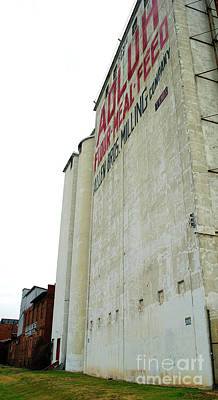 Photograph - Flour Mill Feed by Skip Willits